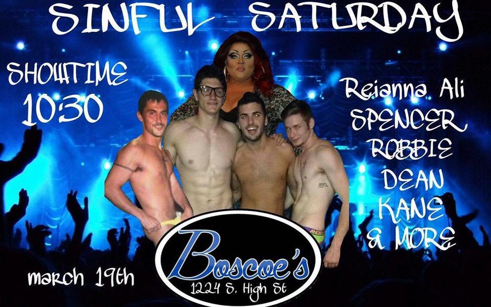 Show Ad | Boscoe's (Columbus, Ohio) | 3/19/2016
