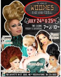 Show Ad   Woodies Bar and Grill (St. Louis, Missouri)   7/24-7/25/2015