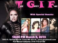Show Ad | Grey Fox (St. Louis, Missouri) | 3/6/2015