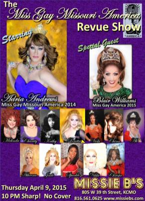 Show Ad | Missie B's (Kansas City, Missouri) | 4/9/2015