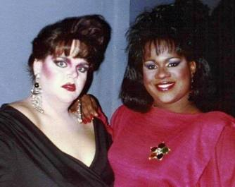 Charity Case and Shayla Simpson from 1990 in St. Louis, Missouri.