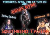 Show Ad | Southbend Tavern (Columbus, Ohio) | 4/9/2015