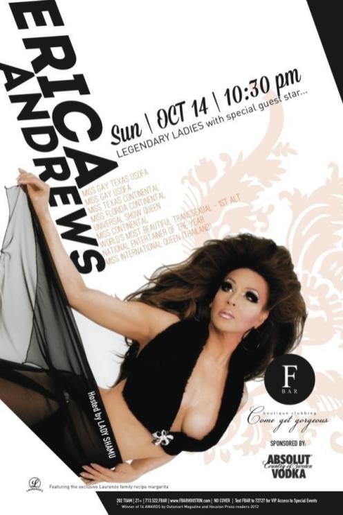 Show Ad | F Bar (Houston, Texas) | 10/14/2012