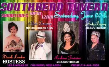 Show Ad | Southbend Tavern (Columbus, Ohio) | 6/20/2015
