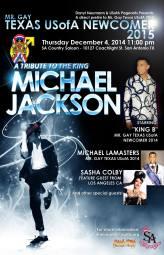 Show Ad   Mr. Gay Texas USofA Newcomer   SA Country Saloon (San Antonio, Texas)   12/4/2014