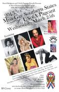 Show Ad | Miss Gay Southern States USofA | Round-Up Saloon (Dallas, Texas) | 3/25/2015