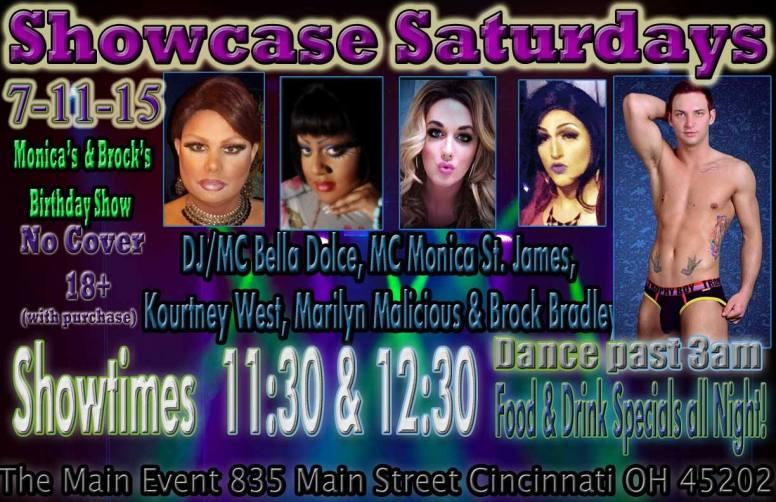 Show Ad   Main Event (Cincinnati, Ohio)   7/11/2015