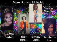 Show Ad | Diesel Bar and Nightclub (Springfield, Ohio) | 11/7/2015
