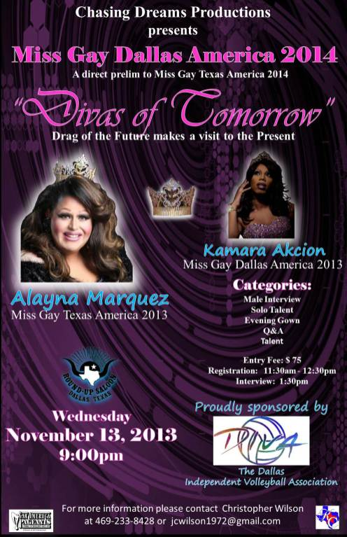 Show Ad | Round Up Saloon (Dallas, Texas) | 11/13/2013