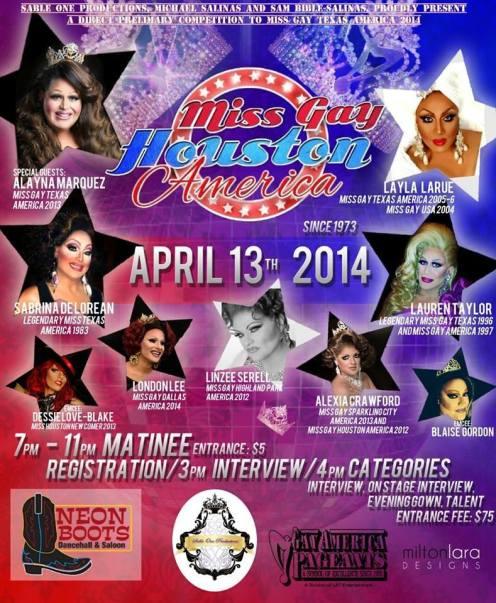 Show Ad | Neon Boots (Houston, Texas) | 4/13/2014