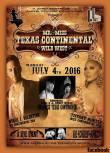 Show Ad | Mr. and Miss Texas Continental | The Josephine Theatre (San Antonio, Texas) | 7/4/2016