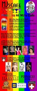 Show Ad   MJ's Cafe (Dayton, Ohio)   6/1/2013