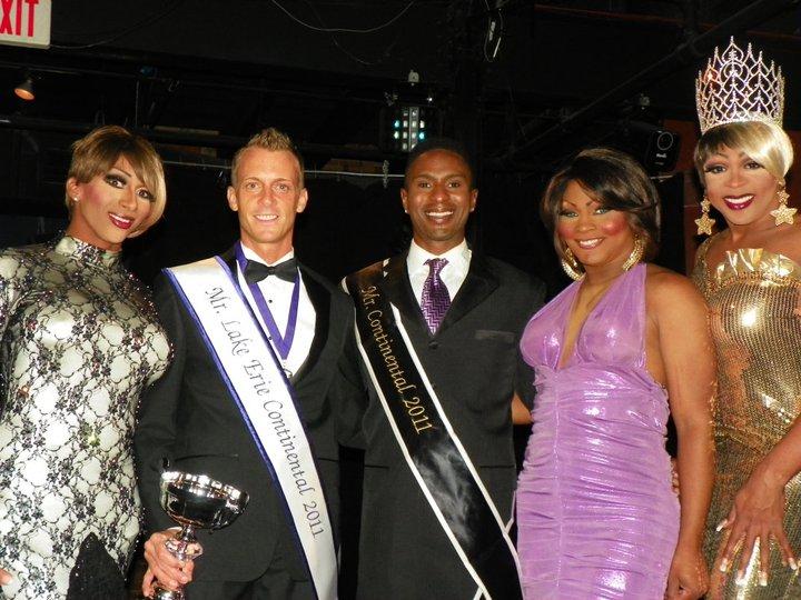 Olivia Knowles, Kevin Carlson, Nick Gray, KiArra Cartier Fontaine and Hershae Chocolatae. Circa 2011.