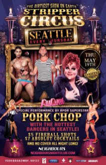 Show Ad | Neighbours Nightclub (Seattle, Washington) | 5/19/2016