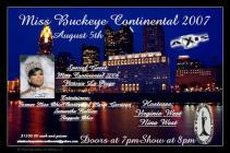 Show Ad   Miss Buckeye Continental  Axis (Columbus, Ohio)   8/5/2007