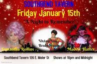 Show Ad   Southbend Tavern (Columbus, Ohio)   1/15/2016