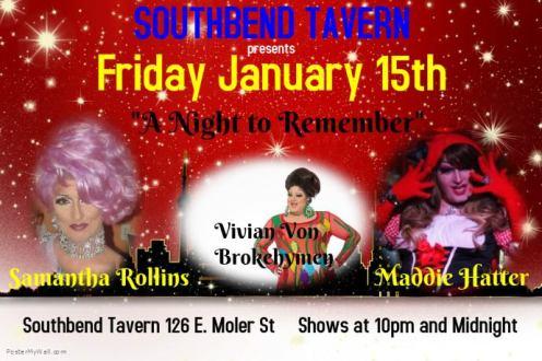 Show Ad | Southbend Tavern (Columbus, Ohio) | 1/15/2016