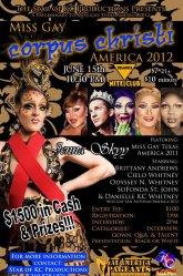 Show Ad | Miss Gay Corpus Christi America | Triangle Nite Club (Corpus Christi, Texas) | 6/15/2012