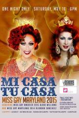 Show Ad | Miss Gay Maryland America | Club Hippo (Baltimore, Maryland) | 5/16/2015