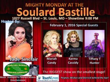 Show Ad | Soulard Bastille (St. Louis, Missouri) | 2/1/2016