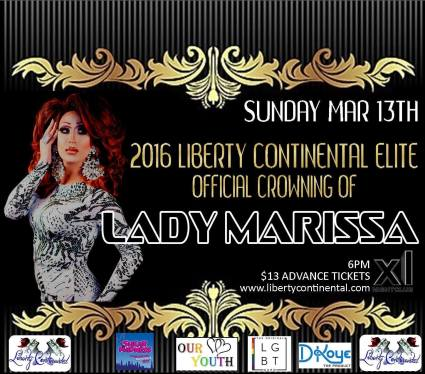 Show Ad | Miss Liberty Continental Elite | XL Night Club (New York, New York) | 3/13/2016