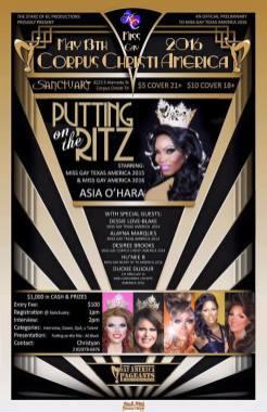 Show Ad | Miss Gay Corpus Christi America | Sanctuary (Corpus Christi, Texas) | 5/13/2016