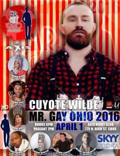 Show Ad   Mr. Gay Ohio   Axis Night Club (Columbus, Ohio)   4/1/2016