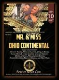 Show Ad | Mr. & Miss Ohio Continental | Bounce Night Club (Cleveland, Ohio) | 7/10/2016