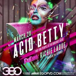 Show Ad | Ego (Providence, Rhode Island) | 3/26/2016
