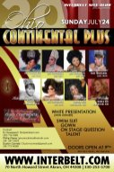 Show Ad | Miss Ohio Continental Plus | Interbelt Nite Club (Akron, Ohio) | 7/24/2011