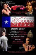 Show Ad | Texas All American Goddess | Randy's Club Cherries (Dallas, Texas) | 2/12/2012