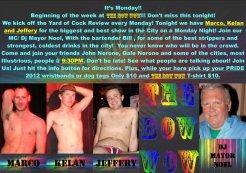 Show Ad | The Bow Wow (Columbus, Ohio) | 5/21/2012