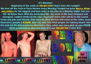 Show Ad | The Bow Wow (Columbus, Ohio) | 5/21/2012