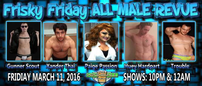 Show Ad | Highball Tavern (Columbus, Ohio) | 3/11/2016