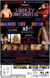Show Ad | Mr. and Miss Liberty Continental | XL (New York City, New York) | 3/1/2015