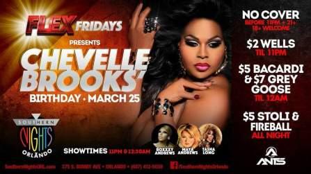 Show Ad | Southern Nights (Orlando, Florida) | 3/25/2016