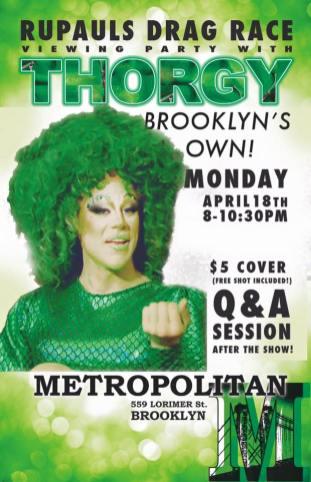 Show Ad | Metropolitan (Brooklyn, New York) | 4/18/2016