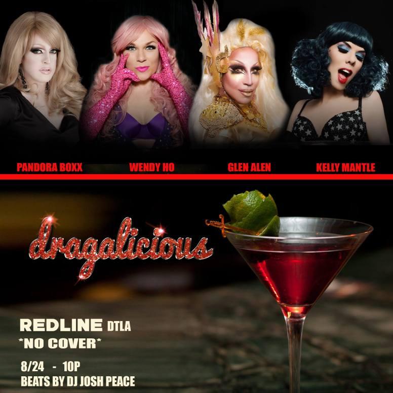 Show Ad | Redline (Los Angeles, California) | 8/24/2016