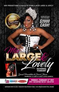 Show Ad | Miss Large and Lovely | Parliament House (Orlando, Florida) | 2/6/2017