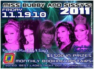 Show Ad   Miss Bubby & Sissy's   Bubby & Sissy's (Alton, Illinois)   11/19/2010