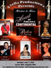 Show Ad   Mr. and Miss Heart of America Continental   Baton Show Lounge (Chicago, Illinois)   5/7/2012