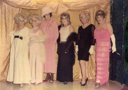 Miss April, Sherrie, Midnight Annie, Chaquita, Bonnie Blake and Lady Charles