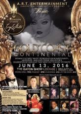 Show Ad | Mr. Gold Coast Continental | The Baton Show Lounge (Chicago, Illinois) | 6/13/2016