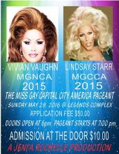 Show Ad | Miss Gay Capital City America | Legends Complex (Raleigh, North Carolina) | 5/29/2016