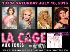 Show Ad | Grey Fox (St. Louis, Missouri) | 7/16/2016