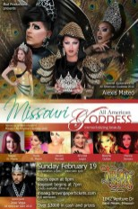 Show Ad   Missouri All American Goddess   Throw Backs (Saint Peters, Missouri)   2/19/2017