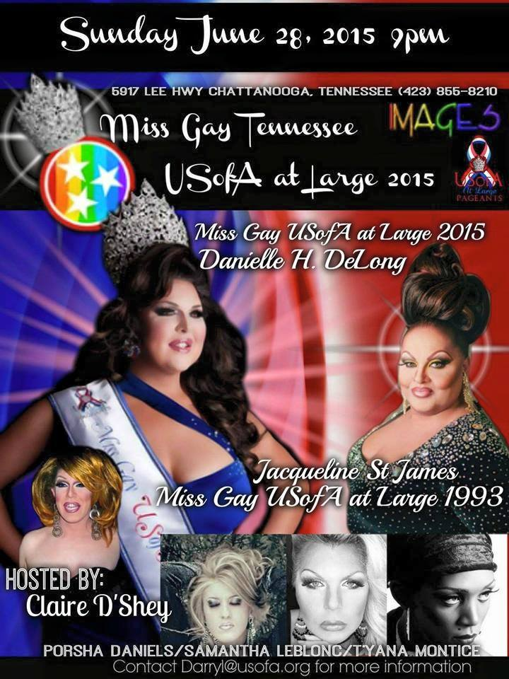 Show Ad | Miss Gay Tennessee USofA at Large | Images (Chattanooga, Tennessee) | 6/28/2015