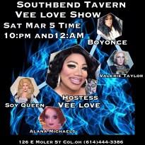 Show Ad | Southbend Tavern (Columbus, Ohio) | 3/5/2016
