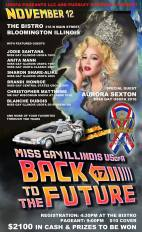 Show Ad   Miss Gay Illinois USofA   The Bistro (Bloomington, Illinois)   11/12/2016