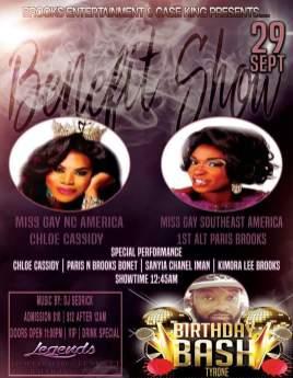Show Ad   Legends (Raleigh, North Carolina)   9/29/2016